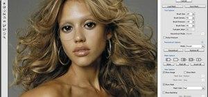 Turn Jessica Alba into a Na'vi in Adobe Photoshop CS3