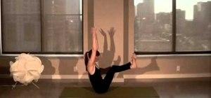 Do a vinyasa yoga flow to whittle your obliques