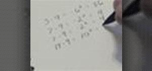 Calculate standard deviation