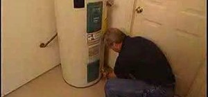 Get hot water from your water heater