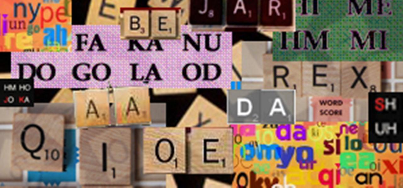 Winning with 2 Letter Words  SCRABBLE WonderHowTo