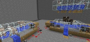 Create an Automatic Animal Harvester in Minecraft