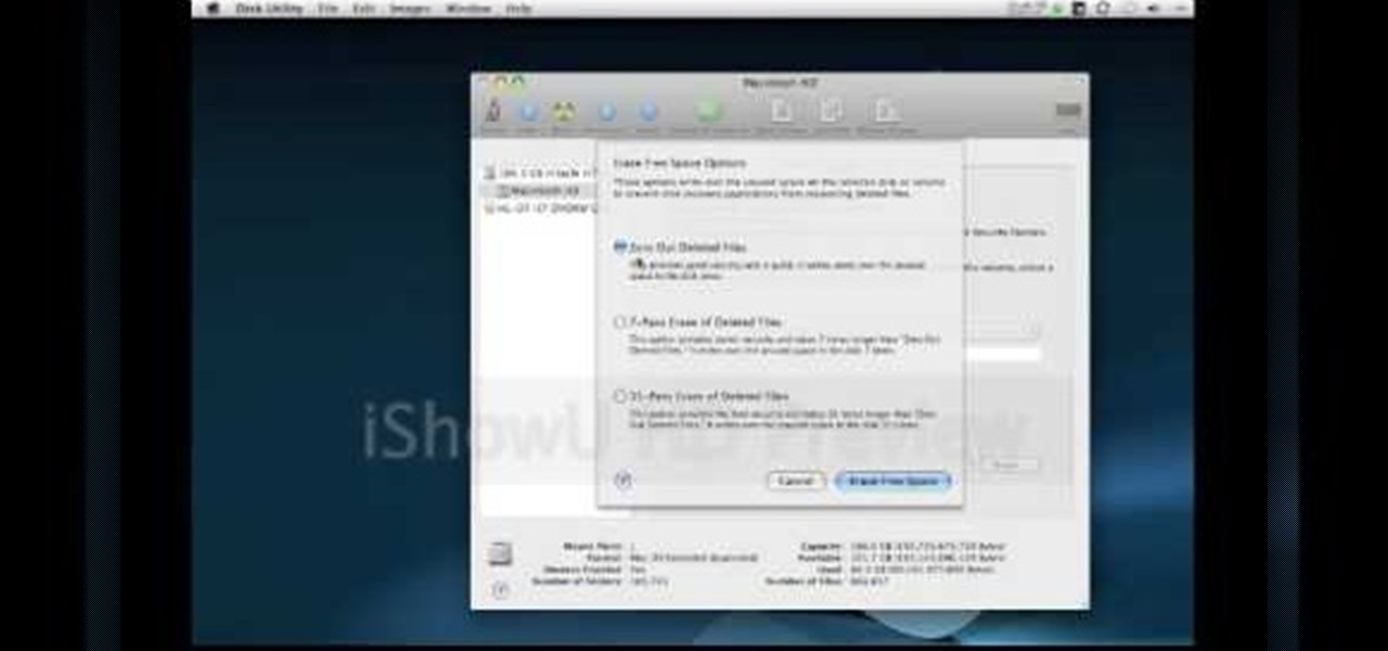 how to get rid of system files on mac