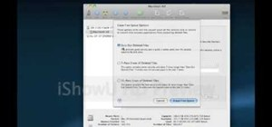 Permanently delete previously deleted files on a Mac