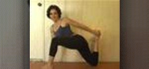 Doa yoga hip flexor stretch to improve advanced poses