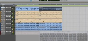 Comp together a finished audio track in Pro Tools