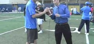 Throw a football with Kevin Craft