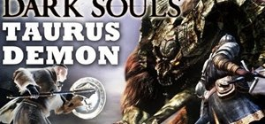 Defeat the second boss in Dark Souls, the Taurus Demon