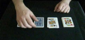 Perform a Puerto Rican poker card trick