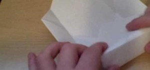 Make a paper box in under 5 minutes