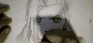 Draw Ino from Naruto