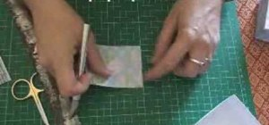 Make an origami gift box with lid