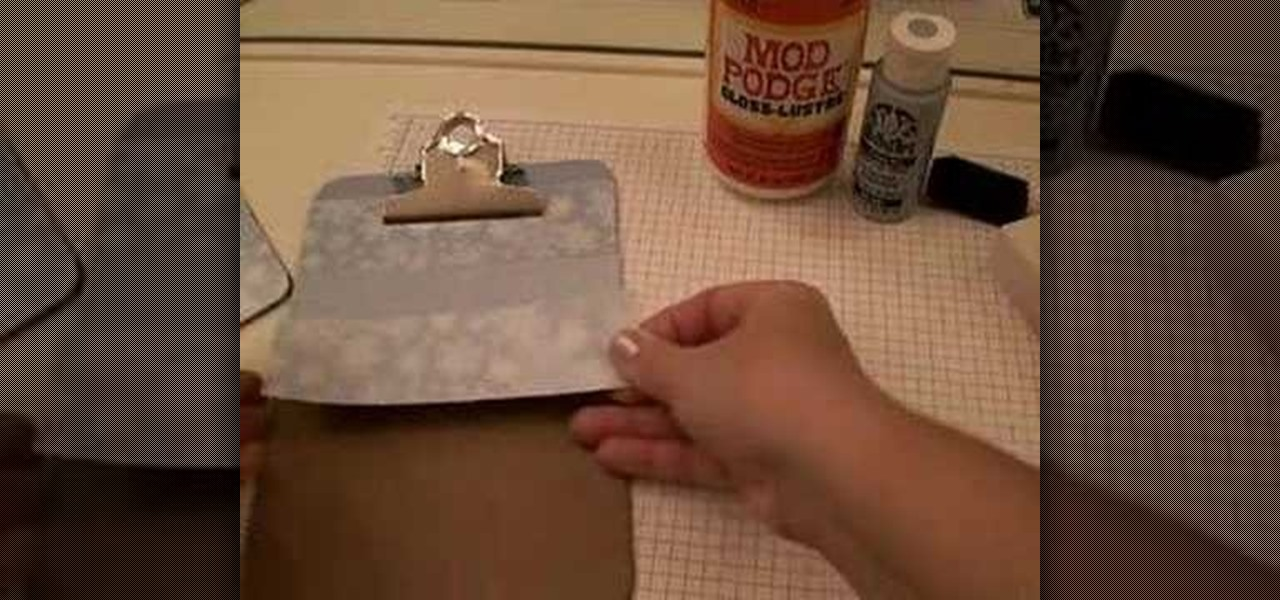 How To Decorate A Clipboard Kids Activities Wonderhowto