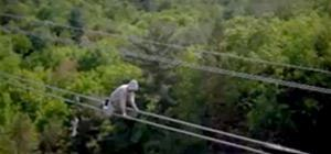 Man Walks On Half a Million Volts of Electricity