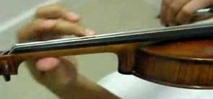 Practice the vibrato on the violin