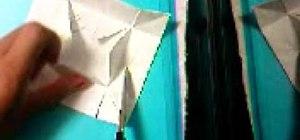 Make a paper origami box