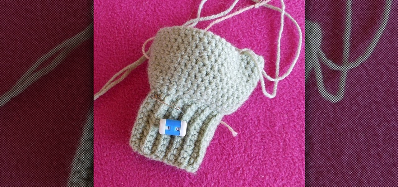 How To Use A Needle Mounted Row Counter When Crocheting Or Knitting