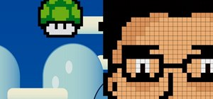 Create 8-bit style pixel art using Adobe Illustrator