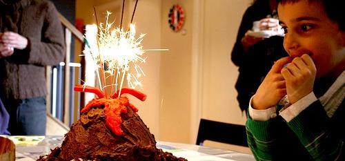 RECIPE: Exploding Volcano Cake