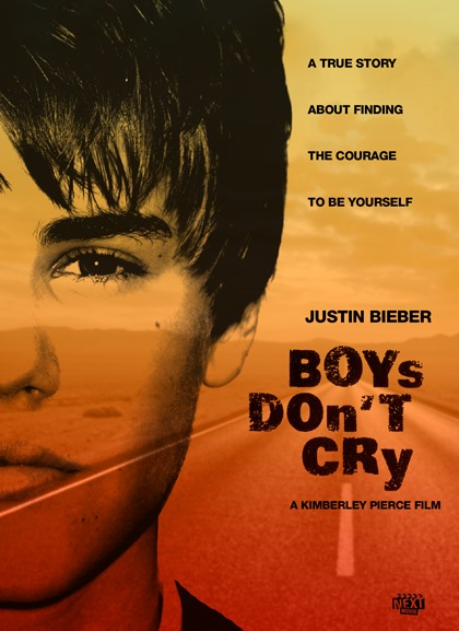 Justin Bieber as the lead in Famous Movies