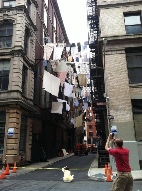 Smartphone Challenge: NYC Laundry Lines