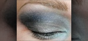 Apply eye makeup inspired by Picasso's blue period