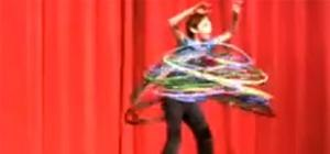 Awesome Hula Hoop Boy Sweeps Talent Show