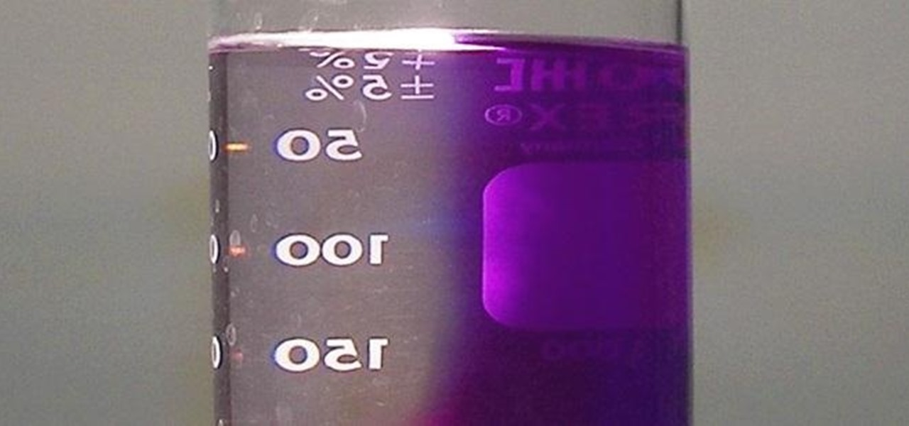 "Turn Just Half of a Purple Liquid Clear with the Photochemical ""Two-Faced"" Reaction"