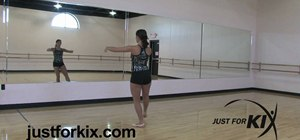 Perform an intermediate turn combo in ballet