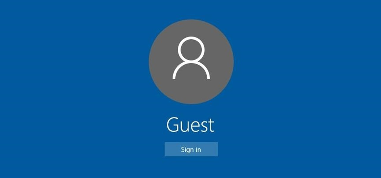 How to Set Up Guest User Accounts in Windows 10 to Protect Your ...