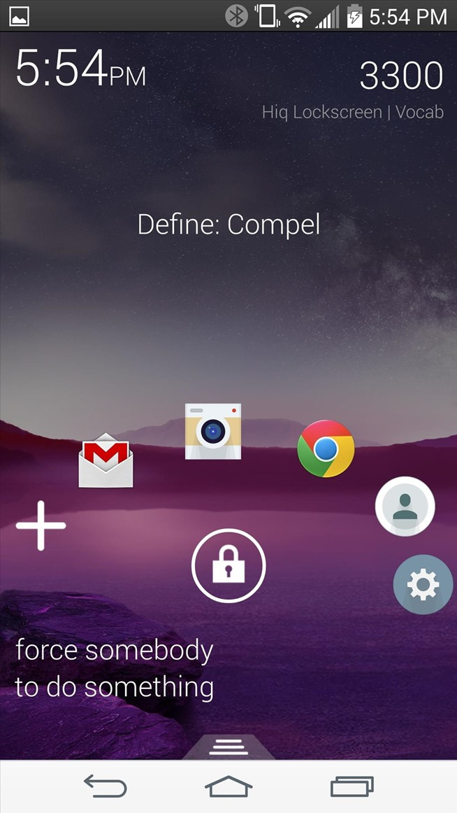 Get Smarter Every Time You Unlock Your LG G3 or Other Android Phone