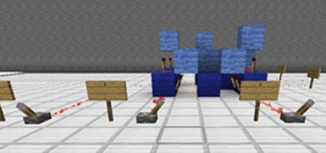how to build a redstone gate simple