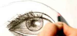Draw an eye step by step