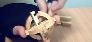 How to Solve a wooden star puzzle brainteaser « Puzzles