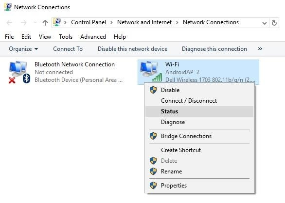 how to find passwword for wifi in aplle i6