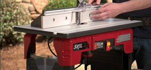 Safely use a router table
