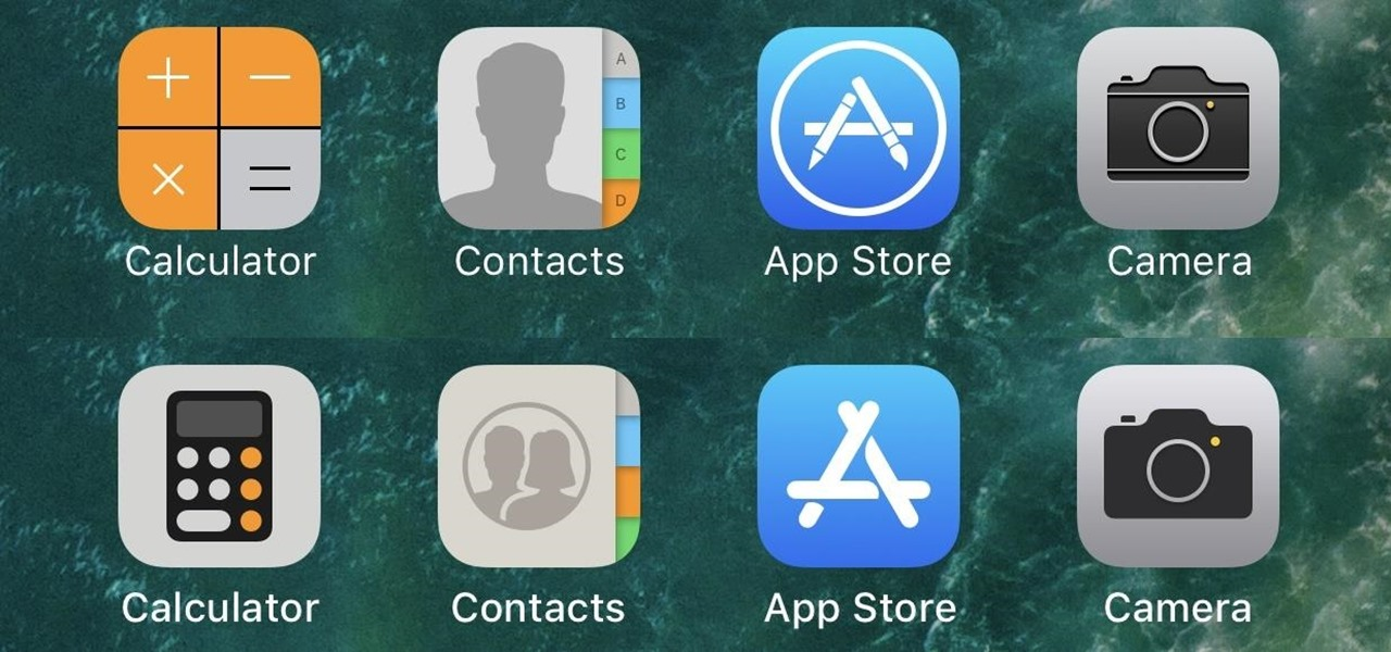 every app icon change apple made on your home screen in