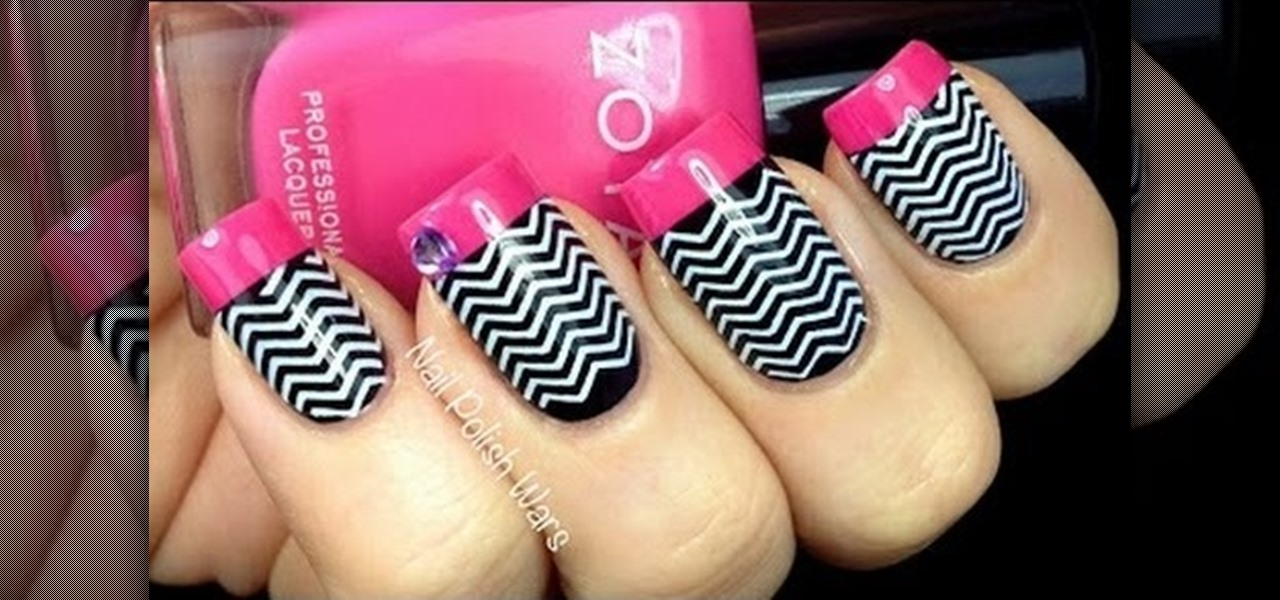 How to Do Chevron Nails Manicure « Nails & Manicure :: WonderHowTo