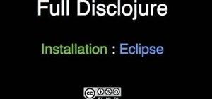 Install Counterclockwise, the Eclipse Clojure plugin