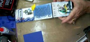 Make an Alice in Wonderland story board craft