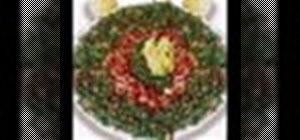 Make Lebanese tabbouleh