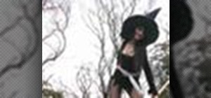 Make a sexy witch costume for Halloween with Gianny L