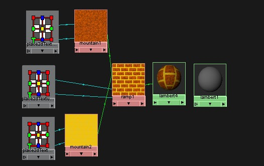 How to Create a Simple Procedural Brick Texture in Maya