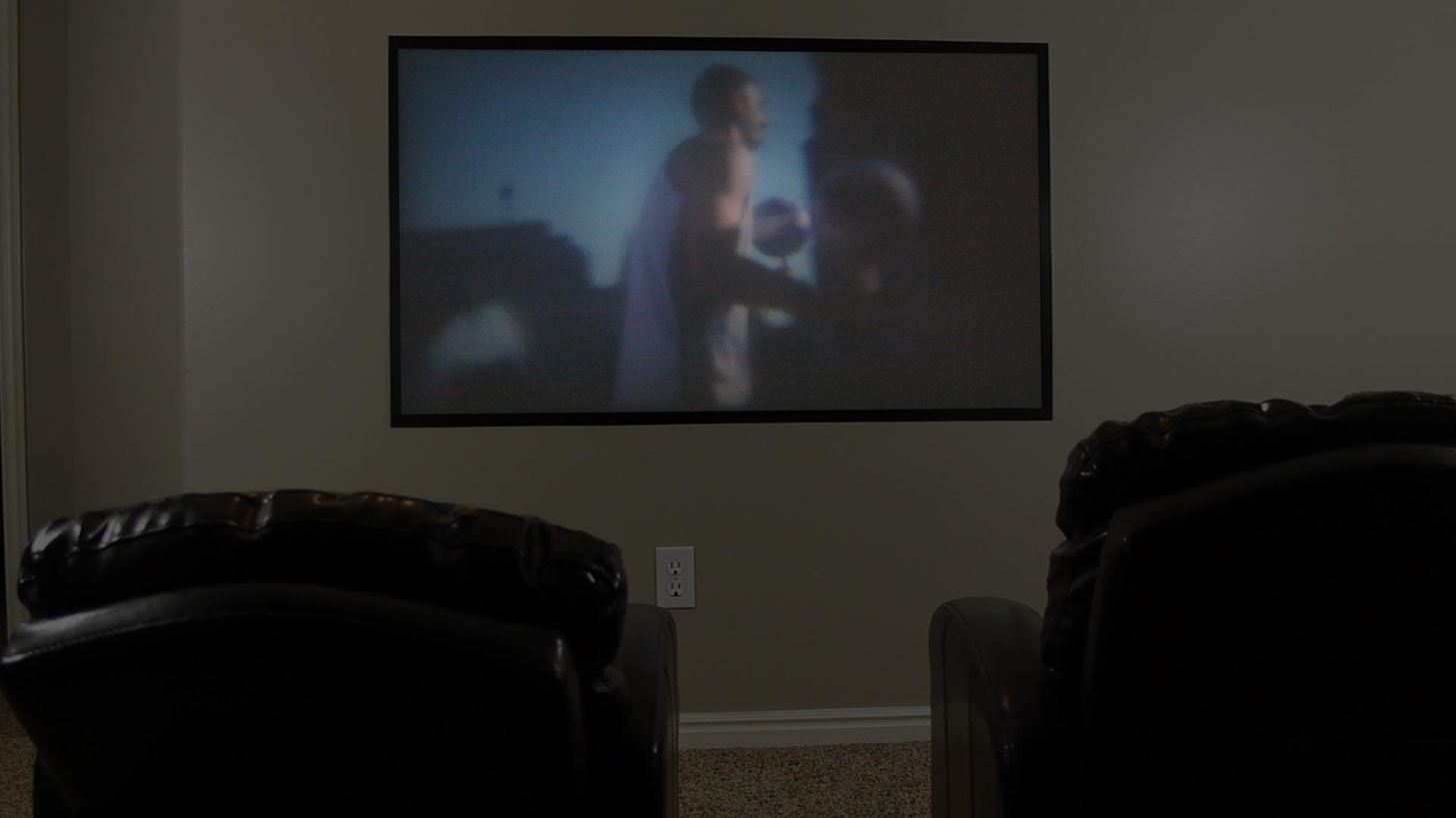 Diy home theater projection screens