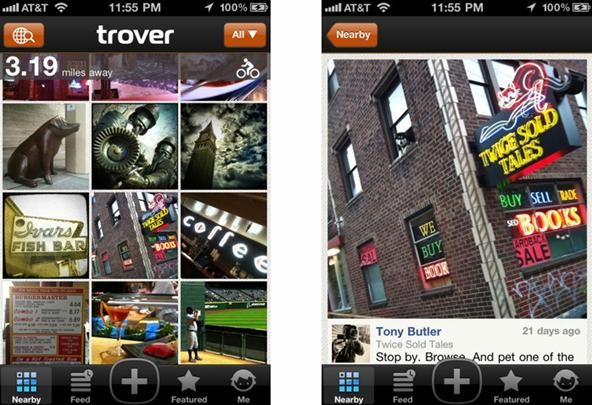 Discover the Hidden World Around You with the Trover iPhone App