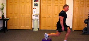 Do stationary box lunges/Bulgarian split squats to tone your thighs