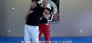 Use the Jiu Jitsu escort technique