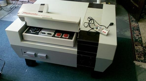 What Every ManBoy Covets: The Nintendo Entertainment System Coffee Table