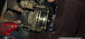 Change your vehicle's brake pads